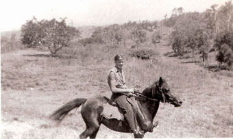 Alex in Queensland, 1953